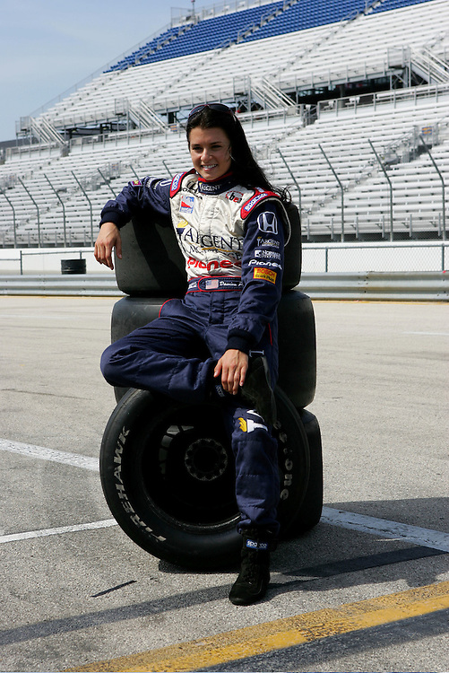 Danica Patrick, Milwaukee, 2005