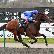 My Freedom and Frankie Dettori winning the 2.00 race
