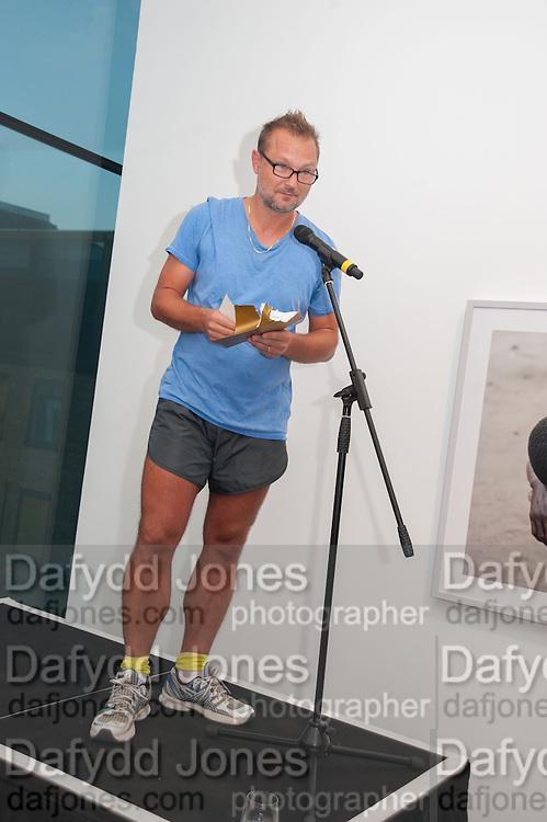 JUERGEN TELLER, The Deutsche Börse Photography Prize 2012. Photographers Gallery. Ramillies Place, London. 3 September 2012.