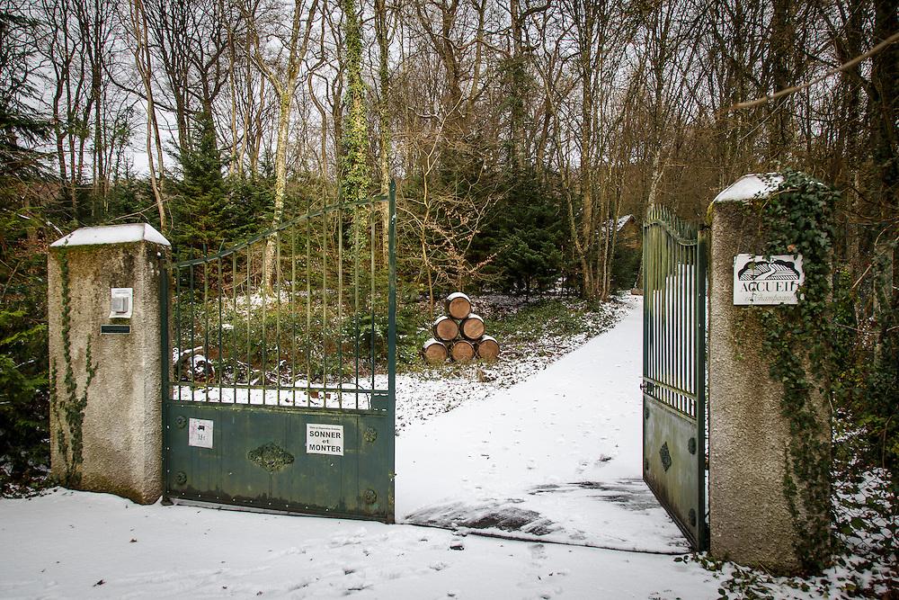 Distillerie Guillon in Louvois, France, January 24, 2015. Gary He/DRAMBOX MEDIA LIBRARY