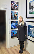This is Jan's first set of canvas prints now on show at the Glyn Davies Gallery. This image gives you an approximate idea about what a 40 x 40 cm canvas looks like.