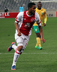 Tashrique Morris in action for Ajax Cape Town in the match between Ajax Cape Town and Golden Arrows at the Cape Town Stadium on Saturday, August 19, 2017.