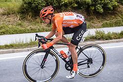 11.07.2019, Kitzbühel, AUT, Ö-Tour, Österreich Radrundfahrt, 5. Etappe, von Radstadt nach Fuscher Törl (103,5 km), im Bild Riccardo Zoidl (CCC Team, AUT) // Riccardo Zoidl (CCC Team, AUT) during 5th stage from Bruck an der Glocknerstraße to Kitzbühel (161,9 km) of the 2019 Tour of Austria. Kitzbühel, Austria on 2019/07/11. EXPA Pictures © 2019, PhotoCredit: EXPA/ JFK