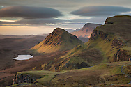 View south from The Quiraing, Trotternish, Skye, Scotland.