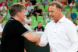 Zeljko Draksic during friendly basketball match between National teams of Slovenia and Croatia of Adecco Ex-Yu Cup 2012 as part of exhibition games 2012, on August 4, 2012, in Arena Stozice, Ljubljana, Slovenia. (Photo by Urban Urbanc / Sportida)