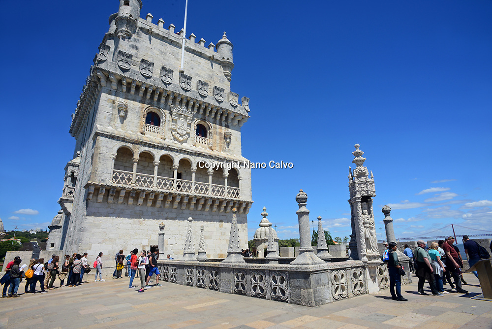 Belém Tower or Tower of St Vincent, a fortified tower located in the civil parish of Santa Maria de Belém in the municipality of Lisbon, Portugal.