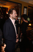 Ralph Fiennes. The after show party following the UK Premiere of 'The White Countess', at China Tang, Park Lane London. March 19  2006. London. ONE TIME USE ONLY - DO NOT ARCHIVE  © Copyright Photograph by Dafydd Jones 66 Stockwell Park Rd. London SW9 0DA Tel 020 7733 0108 www.dafjones.com