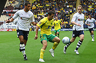 Preston - Saturday September 18th, 2010: Wes Hoolahan of Norwich ex team mate Darel Russell of Preston in action during the Npower Championship match at Deepdale, Preston. (Pic by Paul Chesterton/Focus Images)