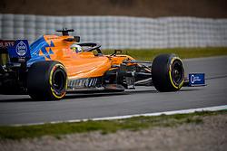 February 19, 2019 - Montmelo, Barcelona, Spain - Barcelona-Catalunya Circuit, Montmelo, Catalonia, Spain - 19/02/2018: Lando Norris of McLaren during second journey of F1 Test Days in Montmelo circuit. (Credit Image: © Javier Martinez De La Puente/SOPA Images via ZUMA Wire)