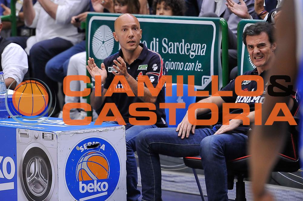 DESCRIZIONE : Campionato 2014/15 Serie A Beko Semifinale Playoff Gara4 Dinamo Banco di Sardegna Sassari - Olimpia EA7 Emporio Armani Milano<br /> GIOCATORE : Stefano Sardara<br /> CATEGORIA : Ritratto Esultanza<br /> SQUADRA : Dinamo Banco di Sardegna Sassari<br /> EVENTO : LegaBasket Serie A Beko 2014/2015 Playoff<br /> GARA : Dinamo Banco di Sardegna Sassari - Olimpia EA7 Emporio Armani Milano Gara4<br /> DATA : 04/06/2015<br /> SPORT : Pallacanestro <br /> AUTORE : Agenzia Ciamillo-Castoria/L.Canu<br /> Galleria : LegaBasket Serie A Beko 2014/2015