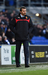 Watford Manager, Slavisa Jokanovic on the side line at Cardiff City Stadium - Photo mandatory by-line: Paul Knight/JMP - Mobile: 07966 386802 - 28/12/2014 - SPORT - Football - Cardiff - Cardiff City Stadium - Cardiff City v Watford - Sky Bet Championship
