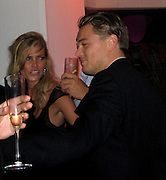 May Anderson & Leonardo DiCaprio.Vanity Fair Party at Hotel Du Cap .2007 Cannes Film Festival .Cap D' Antibes, France .Saturday, May 19, 2007.Photo By Celebrityvibe; .To license this image please call (212) 410 5354 ; or.Email: celebrityvibe@gmail.com ;
