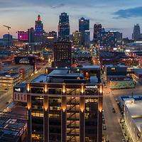 Skyline, Kansas City, Missouri, July 2018.