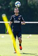 21.08.2018 - SÃO PAULO, SP - O jogador Nene do São Paulo, durante o treino no CCT da Barra Funda, Zona Oeste da capital paulista. ( Foto: Marcelo D. Sants / FramePhoto )