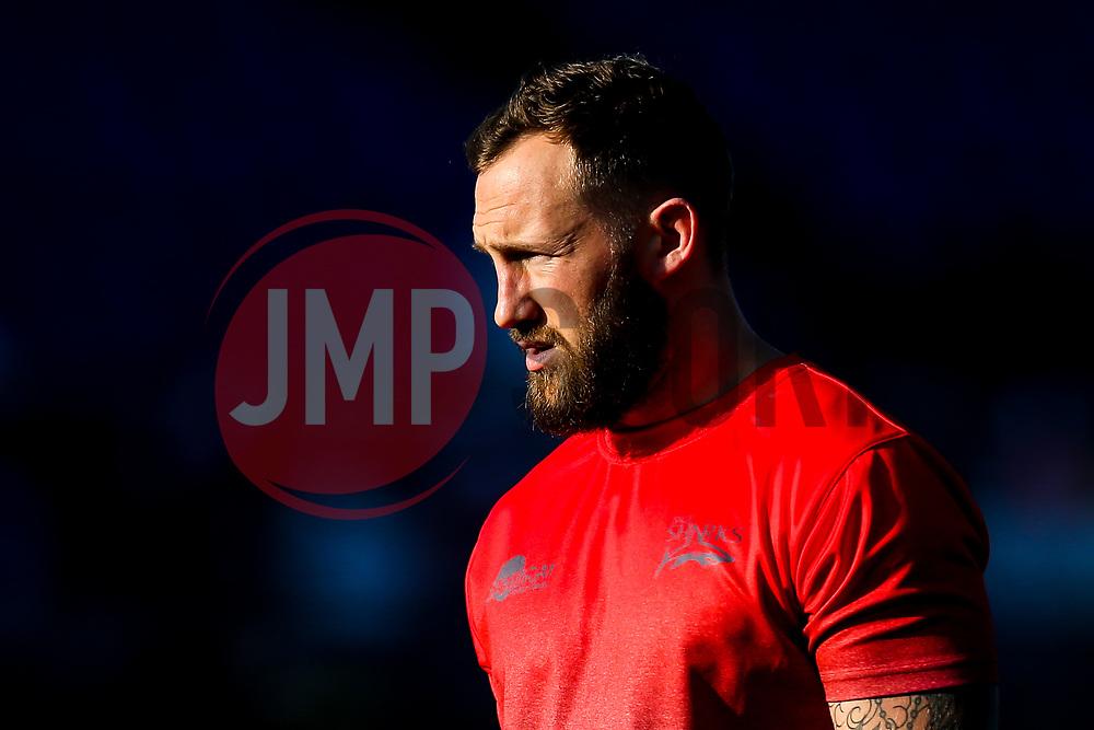 Byron McGuigan of Sale Sharks - Mandatory by-line: Robbie Stephenson/JMP - 17/11/2018 - RUGBY - Allianz Park - London, England - Saracens v Sale Sharks - Gallagher Premiership Rugby