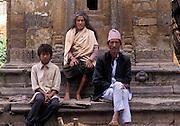 Passing the time, Durbar Square, Kathmandu