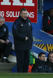 PORTSMOUTH, ENGLAND - SATURDAY, DECEMBER 9th, 2006: David Moyes of Everton during the Premiership match against Portsmouth at Fratton Park. (Pic by Chris Ratcliffe/Propaganda)