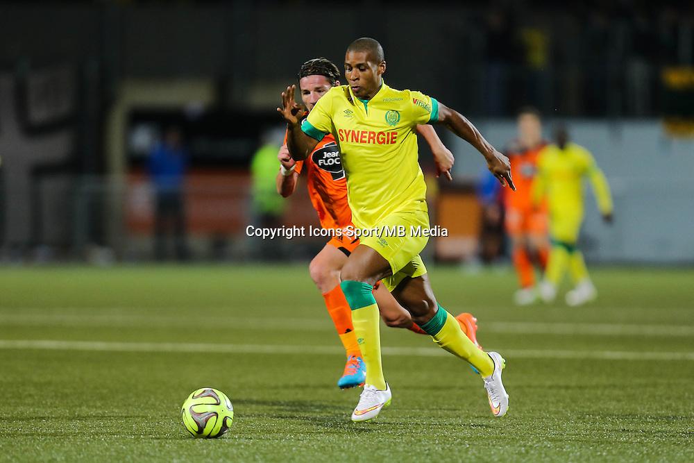 Johan AUDEL - 20.12.2014 - Lorient / Nantes - 17eme journee de Ligue 1 -<br />Photo : Vincent Michel / Icon Sport
