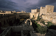 David citadel, and Herodeís walls ruins    Israel     ///  la citadelle de david et les ruines des fortifications díherode  Jerusalem  Israel   ///     L4156  /  R00290  /  P116326