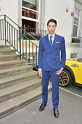 NAT WELLER at an exclusive showing of the Ralph Lauren Collection Spring 2014 Runway Collection held at the legendary Abbey Road Studios, Abbey Road, London NW8 on 21st May 2014.