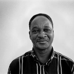 Clément Tapsoba, Film Critic. Ouagadougou, 2006.