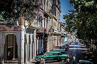 Havana is a jumbled mix of stunning architecture and classic old cars.