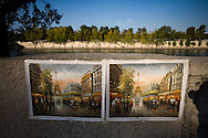 The Seine is a slow flowing major river and commercial waterway within the regions of Île-de-France and Haute-Normandie in France and famous as a romantic backdrop in photographs of Paris, France. Friday, Sept. 26, 2008. (ivan gonzalez)