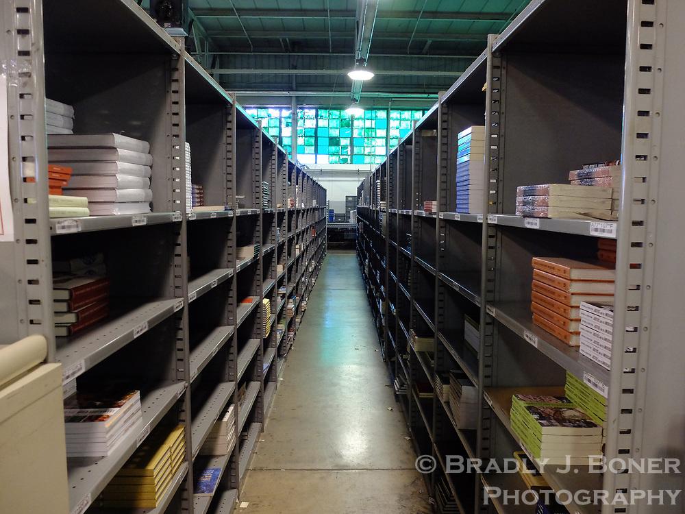 University of Chicago Press warehouse