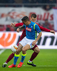 14.03.2019, Red Bull Arena, Salzburg, AUT, UEFA EL, FC Red Bull Salzburg vs SSC Napoli, Achtelfinale, Rückspiel, im Bild Simone Verdi (SSC Napoli)8 // during the UEFA Europa League round of 16, 2nd leg match between FC Red Bull Salzburg and SSC Napoli at the Red Bull Arena in Salzburg, Austria on 2019/03/14. EXPA Pictures © 2019, PhotoCredit: EXPA/ Johann Groder