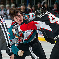 123014 Prince George Cougars at Kelowna Rockets