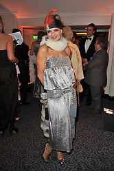 COUNTESS MAYA VON SCHOENBURG at Quintessentially's 10th birthday party held at The Savoy Hotel, London on 13th December 2010.