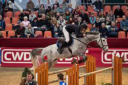 DELFS Henry (GER), Cunningham D<br /> Neustadt-Dosse - CSI 2019<br /> Youngster Tour Finale 7jährige Pferde<br /> 13. Januar 2019<br /> © www.sportfotos-lafrentz.de/Stefan Lafrentz