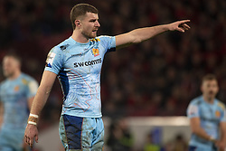 January 19, 2019 - Limerick, Ireland - Ollie Devoto of Exeter during the Heineken Champions Cup match between Munster Rugby and Exeter Chiefs at Thomond Park in Limerick, Ireland on January 19, 2019  (Credit Image: © Andrew Surma/NurPhoto via ZUMA Press)