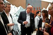 DAVID CICLITIRA; SERENELLA CICLITIRA, Indonesian Eye Contemporary Art Exhibition Reception, Saatchi Gallery. London. 9 September 2011. <br /> <br />  , -DO NOT ARCHIVE-© Copyright Photograph by Dafydd Jones. 248 Clapham Rd. London SW9 0PZ. Tel 0207 820 0771. www.dafjones.com.