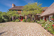 Home designed by architect Daniel Romualdez, gardens and rolling lawns designed by landscape architect Miranda Brooks, Deerfield Rd, Sag Harbor, NY