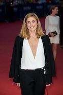 Julie Gayet sur le tapis rouge du Festival du Film Américain à Deauville