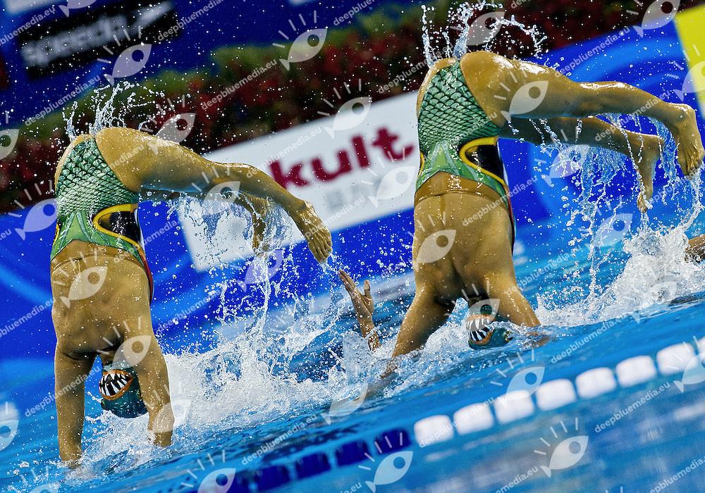 Shanghai , China (CHN) 16-31 July 2011.XIV FINA Swimming World Championships.day 08.Team Free .Final...Photo G.Scala/Deepbluemedia.eu