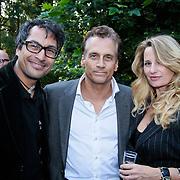 NL/Blaricum/20110915 - Lancering single Gordon & Los Angeles The Voices en CVSTOS watches, Roberto Dresia, Robert Schoemacher en Claudia van Zweden