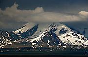 Cloud Over Mount Drum in the Wrangell-St. Elias Range
