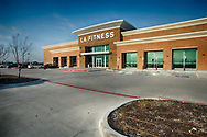 LA Fitness at 9050 Falcon View Drive in McKinney, Texas. (PHOTO BY KEVIN BARTRAM)