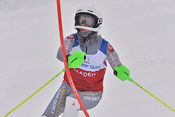 FARKASOVA Henrieta Guide: SUBRTOVA Natalia, B3, SVK at 2018 World Para Alpine Skiing World Cup slalom, Veysonnaz, Switzerland