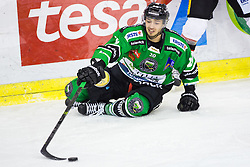 23.01.2015, Hala Tivoli, Ljubljana, SLO, EBEL, HDD Telemach Olimpija Ljubljana vs HC Znojmo Orli, 42. Runde, in picture Gregor Koblar (HDD Telemach Olimpija, #20) during the Erste Bank Icehockey League 42. Round between HDD Telemach Olimpija Ljubljana and HC Znojmo Orli at the Hala Tivoli, Ljubljana, Slovenia on 2015/01/23. Photo by Morgan Kristan / Sportida
