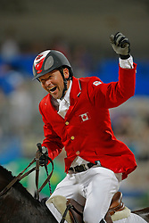 Lamaze Eric - Hickstead<br /> Olympic Games Hong Kong 2008<br /> Photo © Dirk Caremans - Hippo Foto