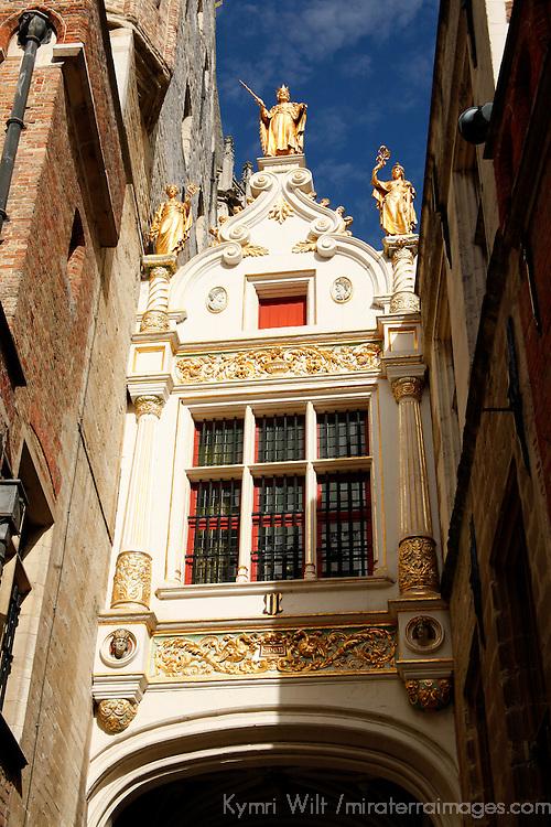 Europe, Belgium, Brugges. Boudewijn Civil Registry in Brugges.