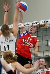 20190112 NED: Sliedrecht Sport - VC Sneek: Sliedrecht<br />Lieze Braaksma (6) of VC Sneek<br />©2019-FotoHoogendoorn.nl / Pim Waslander