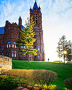 Crouse Building at Sunset at Syracuse University