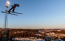 15.03.2018, Granasen, Trondheim, NOR, FIS Weltcup Ski Sprung, Raw Air, Trondheim, im Bild Stefan Hula (POL) // Stefan Hula of Poland during the 3rd Stage of the Raw Air Series of FIS Ski Jumping World Cup at the Granasen in Trondheim, Norway on 2018/03/15. EXPA Pictures © 2018, PhotoCredit: EXPA/ JFK