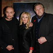 Sean Cronin, Sarina Taylor and Rock Salt arrivers at Eleven Film Premiere at Picture House Central, Piccadilly Circus on 10 November 2018, London, Uk.