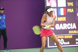October 15, 2018 - Tianjin, Tianjin, China - Tianjin,CHINA-French tennis player Caroline Garcia defeats Su-Wei Hsieh 2-0 at 2018 WTA Tianjin Open in north China's Tianjin. (Credit Image: © SIPA Asia via ZUMA Wire)
