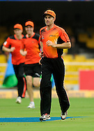 Simon Katich captain of Perth Scorchers during a practice session before the start of match 4 of the Karbonn Smart Champions League T20 (CLT20) 2013  between The Highveld Lions and the Perth Scorchers held at the Sardar Patel Stadium, Ahmedabad on the 23rd September 2013<br /> <br /> Photo by Pal PIllai-CLT20-SPORTZPICS  <br /> <br /> Use of this image is subject to the terms and conditions as outlined by the CLT20. These terms can be found by following this link:<br /> <br /> http://sportzpics.photoshelter.com/image/I0000NmDchxxGVv4